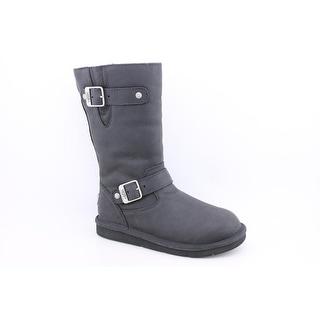 Ugg Australia Kensington Round Toe Leather Winter Boot