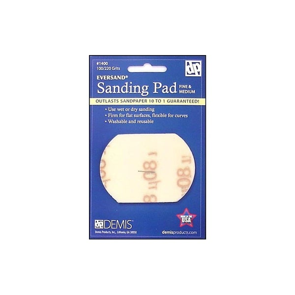 Eversand Sanding Pad Card Small 100/220 Fine-Med