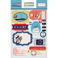- Let's Cruise Layered Stickers
