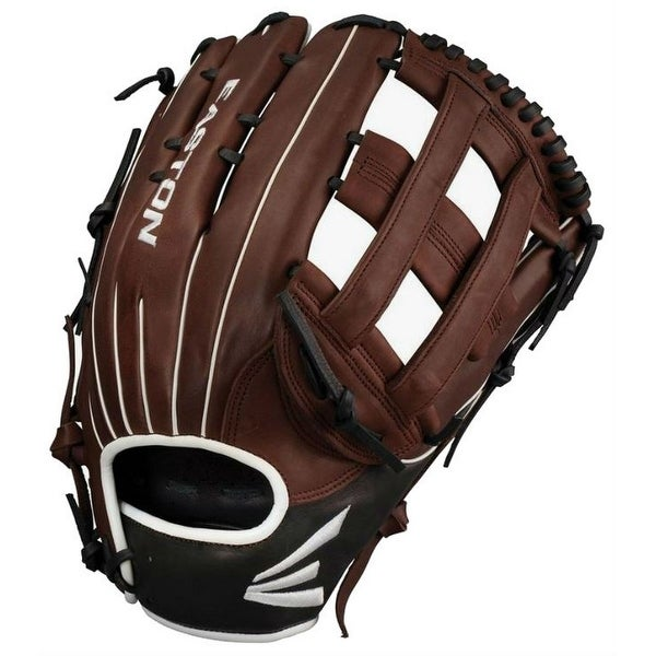 "Easton El Jefe Series Slowpitch Softball 14"" Glove Mitt Fielding EJ1400SP RHT. Opens flyout."