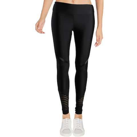 Zara Terez Womens Athletic Leggings Mesh Running
