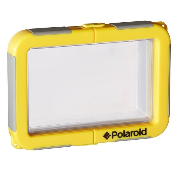 Polaroid Dive-Rated Waterproof FIXED Lens Camera Housing
