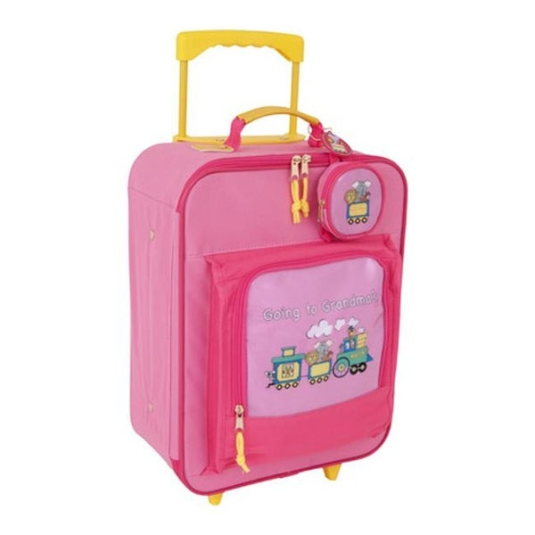f751a4960085 Mercury Luggage Children's Going to Grandma's Wheeled Upright Pink - US  Children's One Size (Size None)