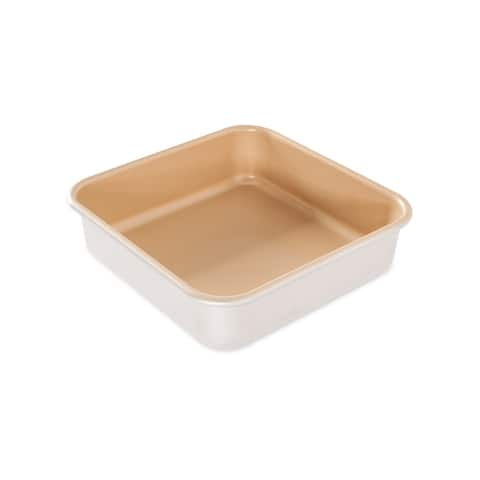 Nordic Ware Natural Aluminum NonStick Commercial Square Cake Pan