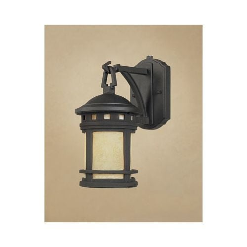 Designers Fountain ES2370 Single Light Down Lighting Energy Star Outdoor Wall Sconce from the Sedona Collection
