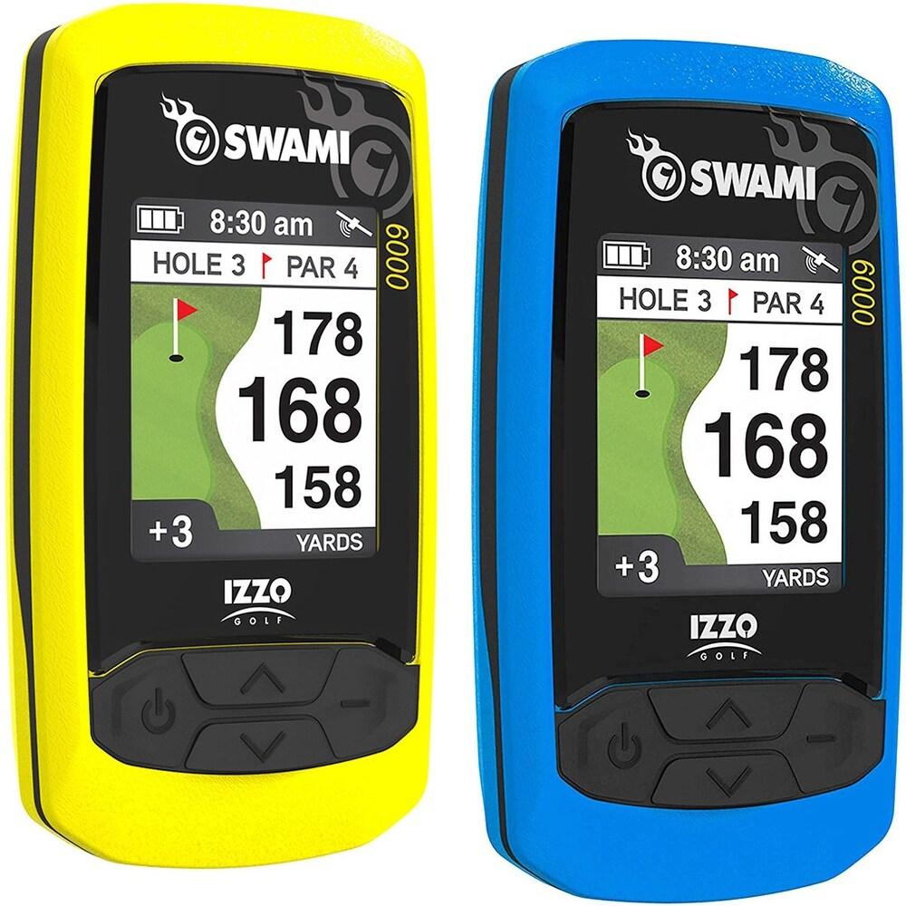 IZZO Golf Swami 6000 Handheld Golf GPS - One Size (Yellow) -  Overstock