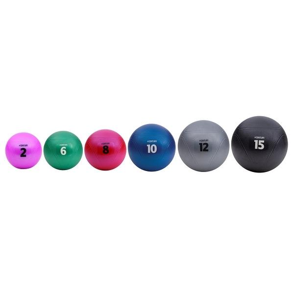 Century Vinyl Black Medicine Balls