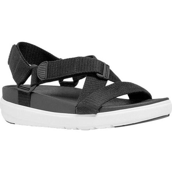 87d1a255d Shop FitFlop Women s Sling II Backstrap Sandal Black Webbing - Free ...