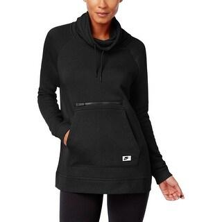 Nike Womens Hoodie Funnel-Neck Long Sleeves