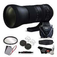 Tamron SP 150-600mm f/5-6.3 Di VC USD G2 for Canon EF International Version (No Warranty) Advanced Kit - Black