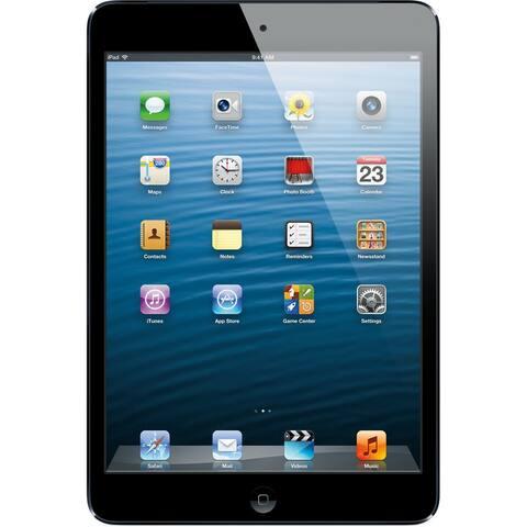 """Apple Ipad Mini with Wi-Fi 7.9"""" - 64GB - Black - White (Refurbished)"""