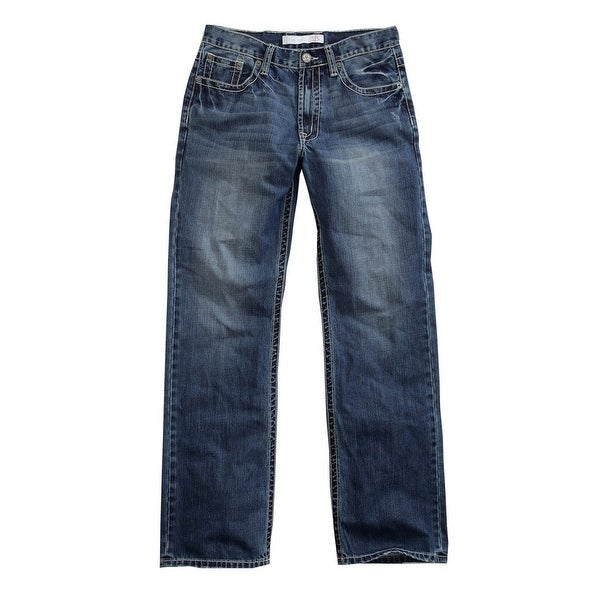 Tin Haul Western Denim Jeans Mens Constrast Blue