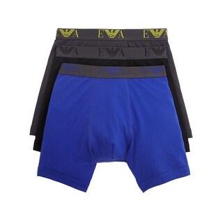 Emporio Armani Cotton Boxer Briefs Underwear 3-Pack Small