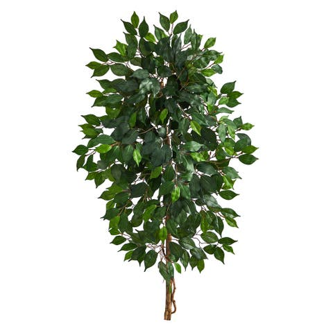 "4' Single Ficus Artificial Tree (No Pot) - 6"""