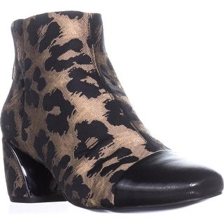 Nine West Joannie Ankle Boots, Natural Multi/Black - 11 us