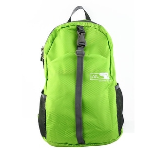 Lightweight Foldable Outdoor Hiking Camping Daypack Travel Backpack Bag Green