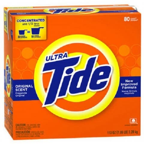 Tide 84981 Ultra High Efficiency Detergent, 56 Oz, 40 Use
