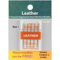 Size 16/100 5/Pkg - Klasse Leather Machine Needles