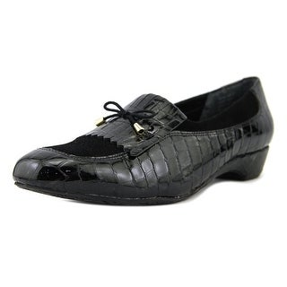 Ros Hommerson Teresa N/S Moc Toe Leather Flats