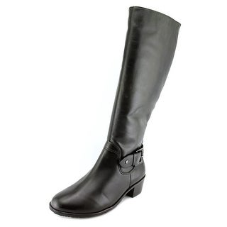 Rose Petals by Walking Cradles Chelsea Women W Round Toe Leather Knee High Boot