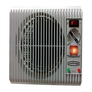 Seabreeze SF12TA Off The Wall Heater With Thermaflo Technology, Silver, 1500 watts