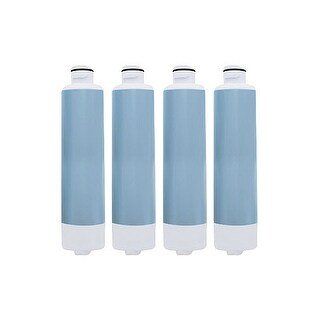 Aqua Fresh Replacement Water Filter f/ Samsung RS263TDBP / RF4287HABP Refrigerator Model 4 Pk