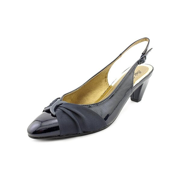 Soft Style by Hush Puppies Dezarae Women NavyCrinkle Pumps