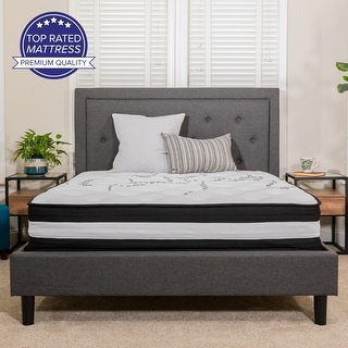 Link to 12-inch. Twin Foam and Pocket Spring Mattress in A Box Similar Items in Mattresses