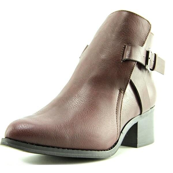 Mia Nahira Women Burgundy Boots