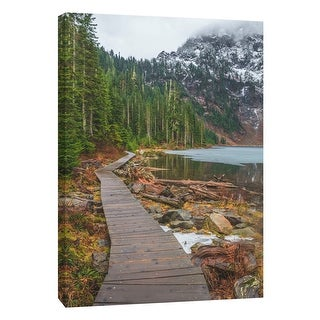 "PTM Images 9-108826  PTM Canvas Collection 10"" x 8"" - ""Lake 22"" Giclee Forests and Mountains Art Print on Canvas"