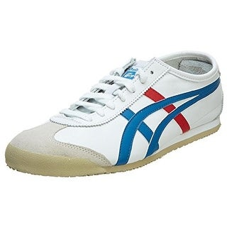 Onitsuka Tiger Mens Leather Flat Running, Cross Training Shoes