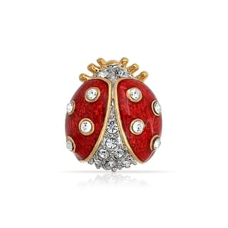Bling Jewelry Gold Plated Red Enamel Crystal Insect Ladybug Brooch Pin|https://ak1.ostkcdn.com/images/products/is/images/direct/4403439abcb0cb8a2c456f15c93f843ae3db91a6/Bling-Jewelry-Gold-Plated-Red-Enamel-Crystal-Insect-Ladybug-Brooch-Pin.jpg?impolicy=medium