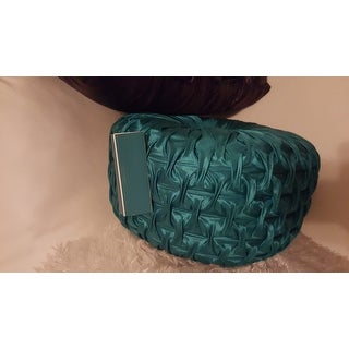 Round 14-inch Turquoise Pillow