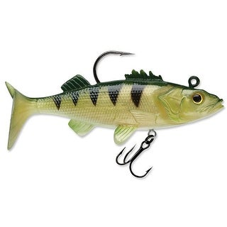 Storm WildEye Live Perch 4 Fishing Lures (3-Pack) - Yellow Perch - yellow perch