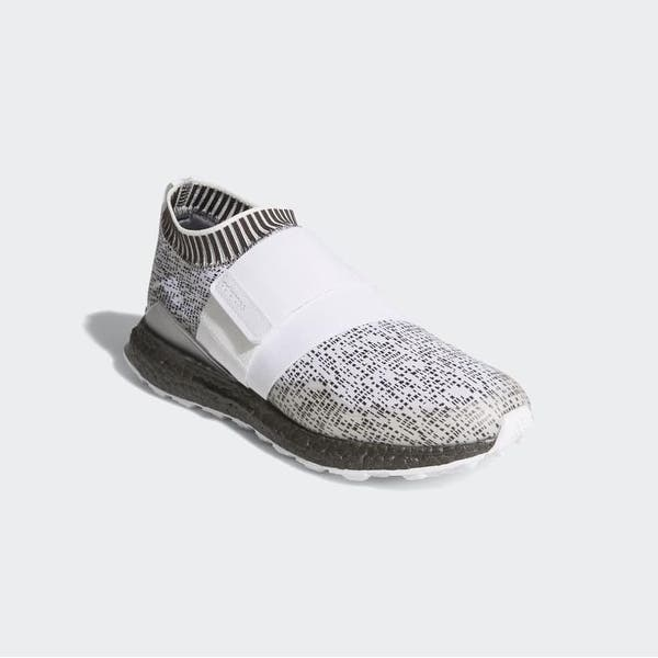 Shop New Men S Adidas Crossknit 2 0 Cloud White Cloud White Boost Trace Grey Golf Shoes F33735 Overstock 26233114