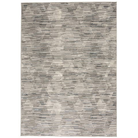 Michael Amini MA90 Uptown Abstract Area Rug
