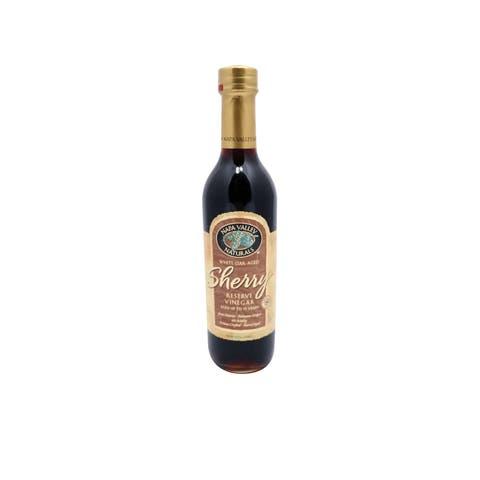 Napa Valley Naturals 15 Year Sherry - Vinegar - Case of 12 - 12.7 Fl oz.