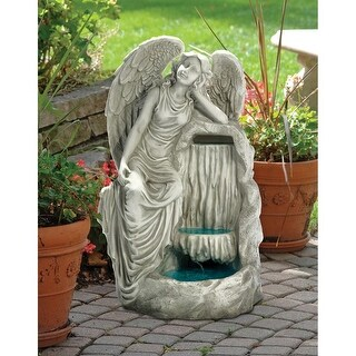 Design Toscano Resting Grace Angel Garden Fountain