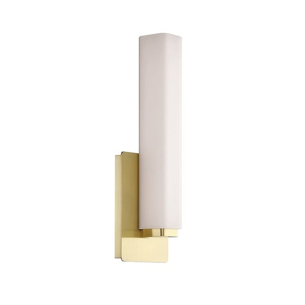 "Modern Forms WS-3115 Vogue 1-Light 15"" Tall Integrated LED Bathroom Sconce - N/A"