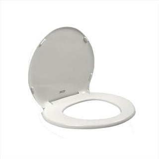 Champion Slow Close Round Front Toilet Seat with Cover in White