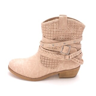 Not Rated Womens Vanoora Closed Toe Ankle Fashion Boots