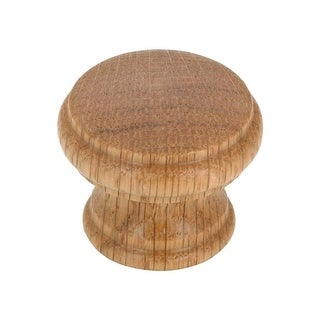 1-3/8 Inch Diameter Mushroom Cabinet Knob from the Expression Collection