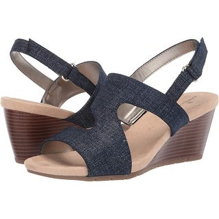Link to Bandolino Womens Gannet Open Toe Special Occasion Platform Sandals Similar Items in Women's Shoes