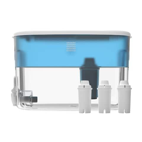 Drinkpod Dispenser Alkaline Water Filter pH Ionizer Countertop Water Purifier 2.4 Gallon Alkaline Water Dispenser pH Ionized