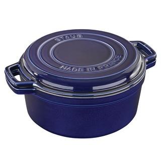 Staub Cast Iron 7-qt Braise & Grill