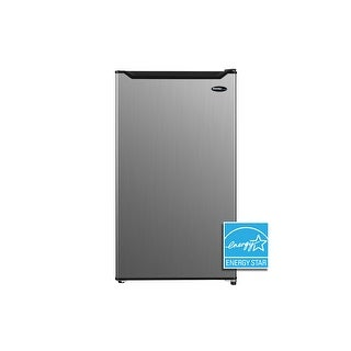 Link to Danby 3.2 cu. ft. Compact Refrigerator DAR032B1SLM Similar Items in Large Appliances