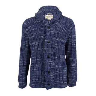 Denim & Supply Ralph Lauren Men's Shawl-Collar Cardigan (XL, Blue) - Blue