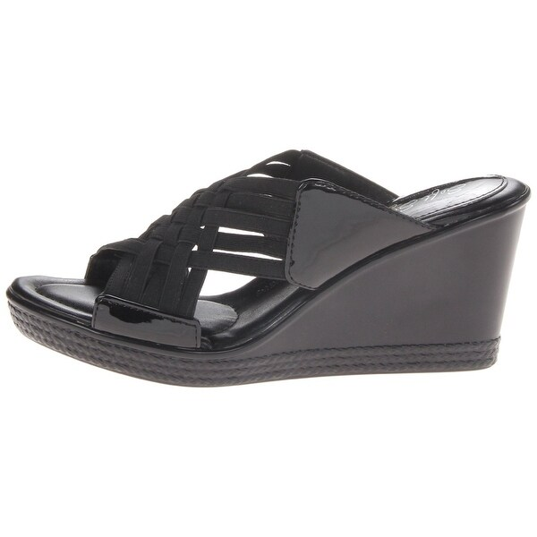 Soft Style Womens WAVA Open Toe Casual Slide Sandals