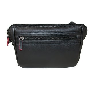 ILI Leather Waistpack with RFID Protection