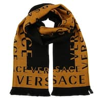 Versace IT00630  100% Wool Mens Scarf